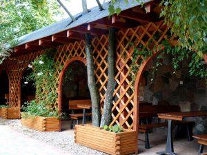 Restauracja u Wokulskiego - ogród